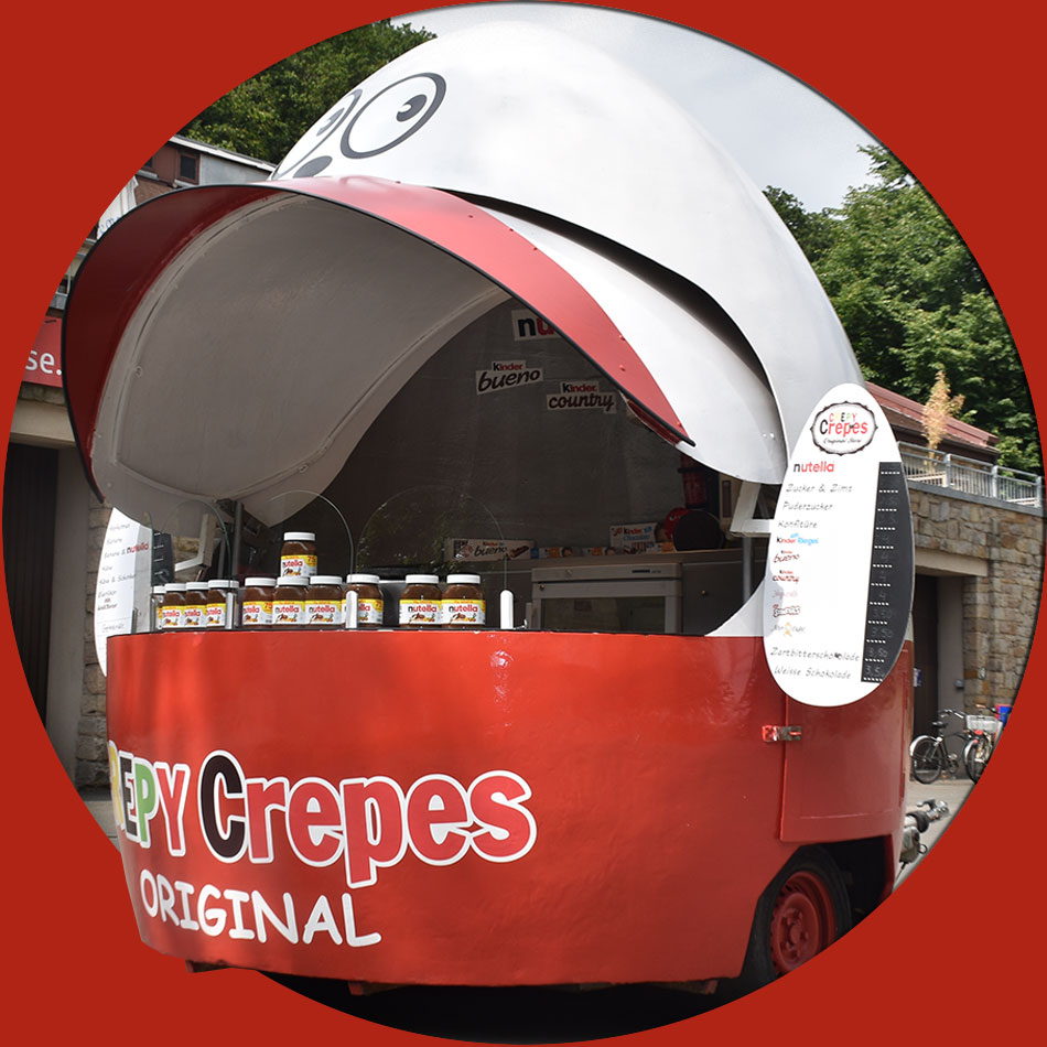 Crepes Stand Wagen